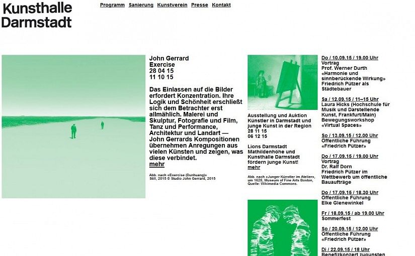 KulturTipp Kunsthalle Darmstadt