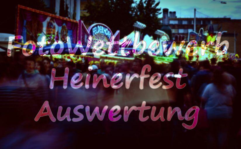 Auswertung FotoWettbewerb Heinerfest