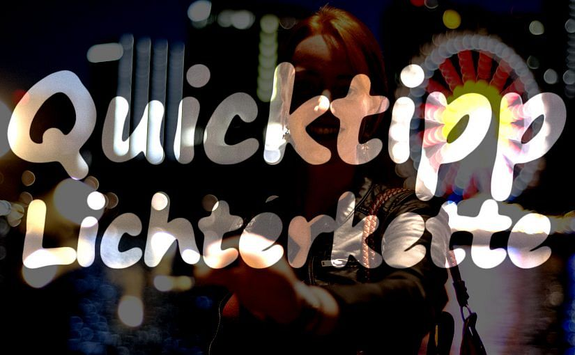 QuickTipp Lichterkette
