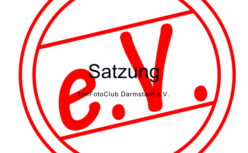 Gründungssitzung 'UniFotoClub Darmstadt e.V.'