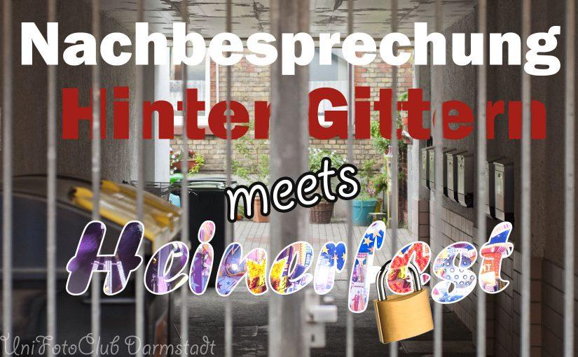 Nachbesprechung 'Hinter Gittern meets Heinerfest'