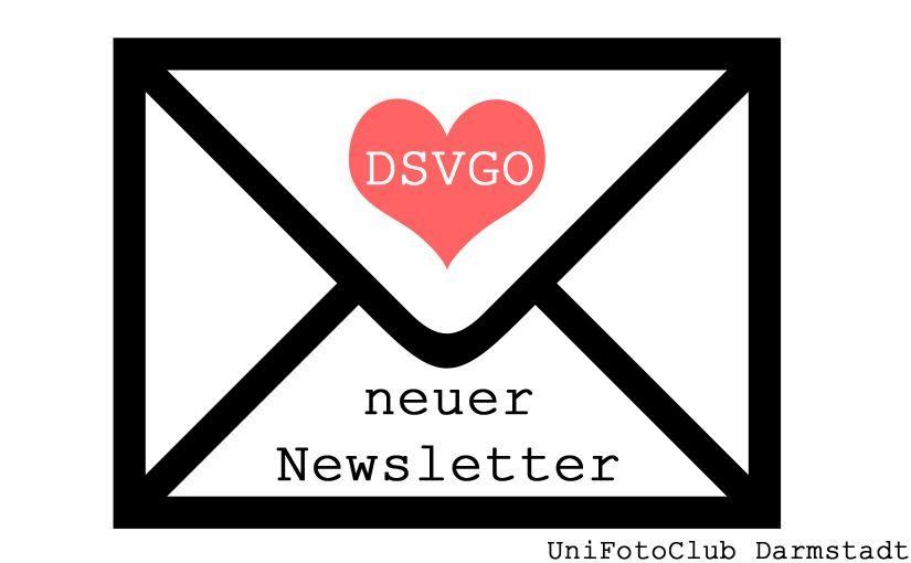 Neuer Newsletter dank DSGVO
