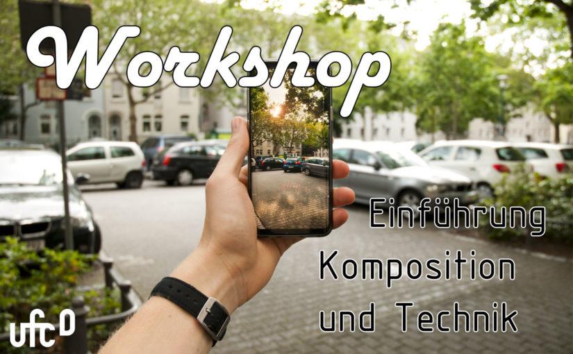 Einladung Workshop 'Einführung Komposition und Technik'