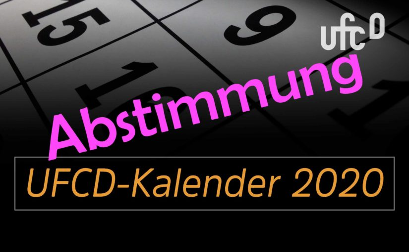 Abstimmung zum UFCD-Kalender