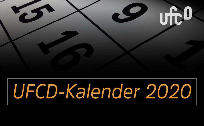 Der UFCD-Kalender 2020 – Das Ergebnis der Abstimmung